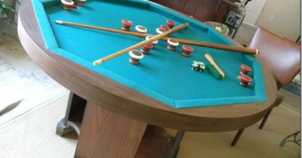 Octagon Bumper Pool Table Pool Table Ideas Pinterest