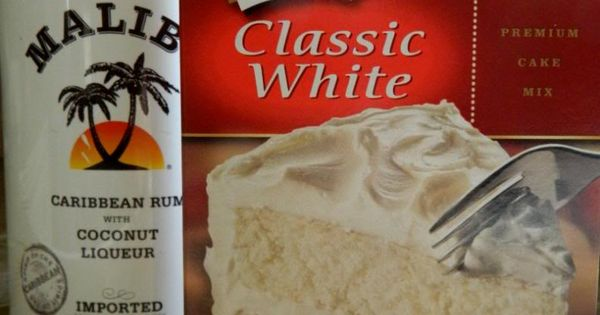 Rum Cupcakes: Ingredients Needed for Cupcakes: Duncan Hines Classic White Cake Mix