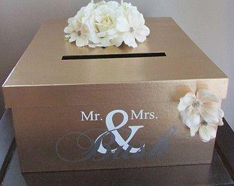 19 Wedding Gift Card Box Ideas Wedding Gift Card Box Gift Table