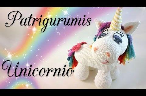 Amigurumi Unicornio Tutorial : Unicorn amigurumi unicornio ganchillo crochet amigurumis
