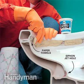 Fixing A Double Flushing Toilet Flush Toilet Slow Flushing Toilet Toilet