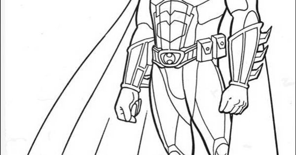 Download and Print Batman Dark Knight Rises Coloring Pages