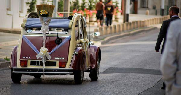Citroen 2cv Dolly Mariage Vintage Cars Antique Cars Car