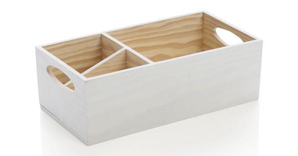Davis Leather 3 Seat 103 Grande Sofa White Wood Crates