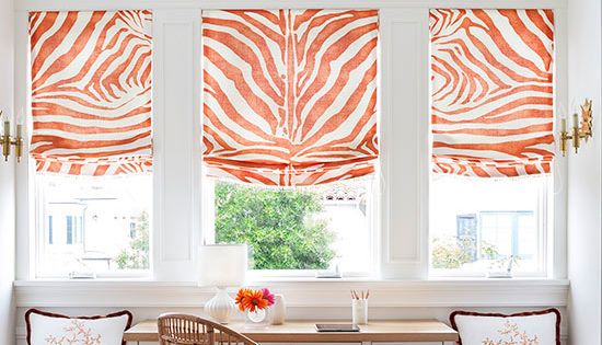 Putting even more attention on the grand architecture for Animal print window treatments