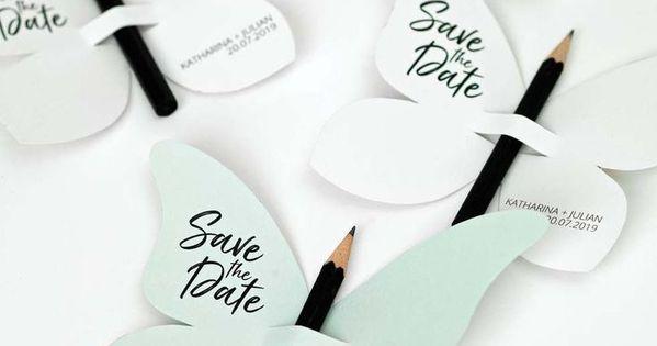 Diy Save The Date Karten Vorlage Schmetterling Ideenfurdiehochzeit Diy Save The Date Karten Vorlage Schme Kartenvorlage Safe The Date Hochzeit Karte Hochzeit