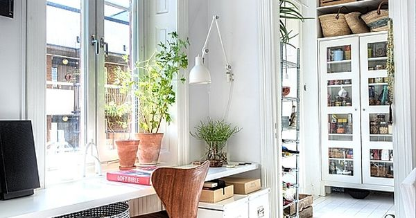 Scandinavian style office