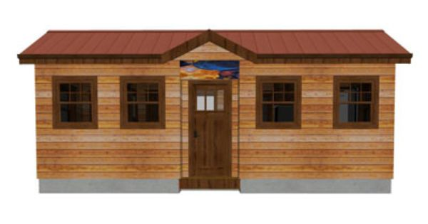 Indy 10x24 Ft Tiny Home From Tiny Bungalow Tiny House Floor Plans Studio Apartment Floor Plans Tiny House