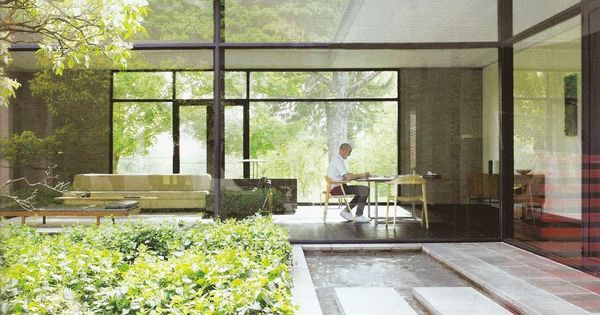 Forest house by bassam fellows new canaan ct originally - Zen forest house seulement pour cette maison en bois ...