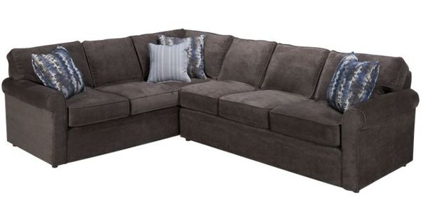 Rowe brentwood 2 piece sectional sectionals for sale for Jordans furniture nh