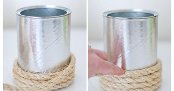 Rope Vase | 33 DIY Gifts You Can Make In Less Than