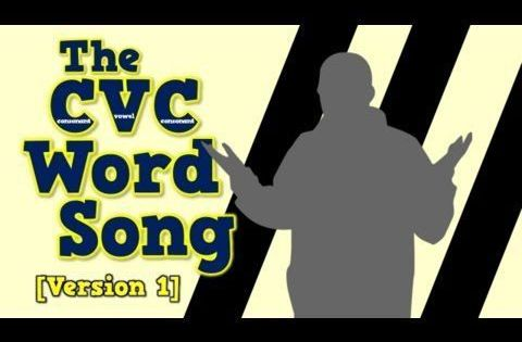 The CVC Word Song (Version 1) - YouTube | Literacy Activities ...