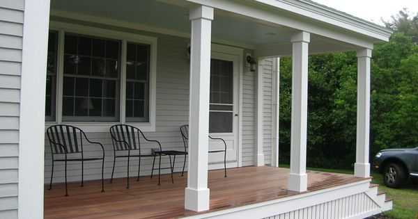 Vertical Slat Porch Skirting Home Improvement