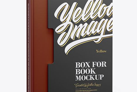 Download Matte Box With Book Mockup Half Side View In Box Mockups On Yellow Images Object Mockups Mockup Free Psd Free Psd Mockups Templates Psd Mockup Template