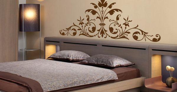 un motif g ant typiquement baroque pour une touche d co. Black Bedroom Furniture Sets. Home Design Ideas