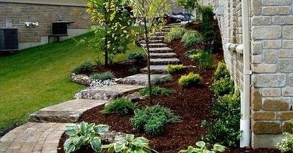 pie shaped backyard landscaping ideas google search gardening