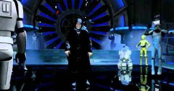 Kinect Star Wars Vader Palpatine Dance Ghosts N Stuff Deadmau5 Star Wars Star Wars Theme War