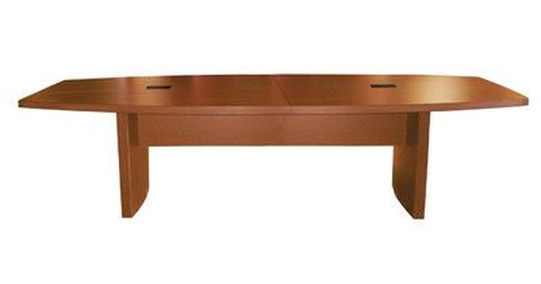 Mayline Aberdeen Series Boat Shaped Conference Table Finish Cherry Size 12 L Conference Table Table Multipurpose Table