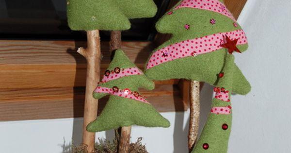 tannenb ume tannenbaum patchwork tannenbaum mit perlen bestickte tannenb ume. Black Bedroom Furniture Sets. Home Design Ideas