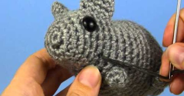 Amigurumi Face Stitch : Crochet - Securely stitching on face details on Amigurumi ...