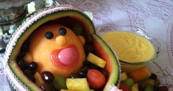 Fruit Arrangement For Baby Shower Diy Pinterest