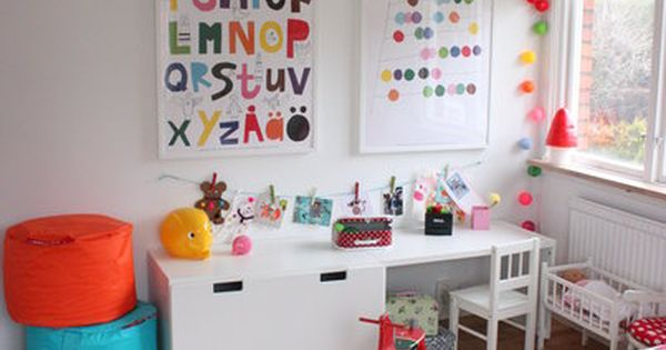 Alphabet poster play room