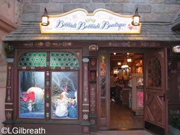 Bibbidi Bobbidi Boutique Salon In Fantasyland Bibbidi Bobbidi