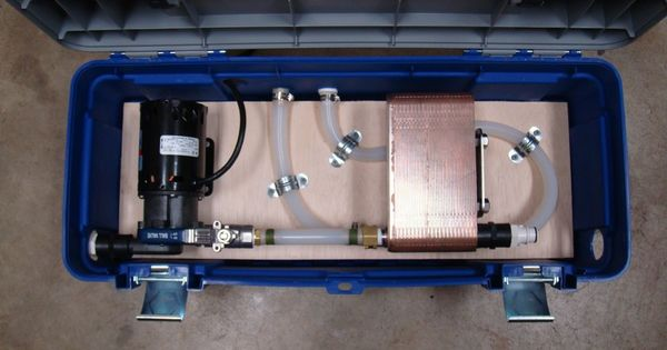 Show Us Your Pump And Plate Chiller Set Up Home Brew