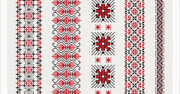 Semne cusute romanian traditional motifs moldova iasi bivo romanian pinterest - Beautiful romanian folk motifs ...