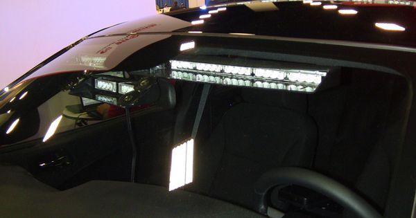 shark tooth visor light with reflex lens led visor. Black Bedroom Furniture Sets. Home Design Ideas