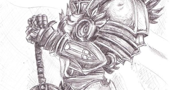 tyrael drawing google search tattoo ideas pinterest drawings and google search. Black Bedroom Furniture Sets. Home Design Ideas