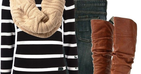 Black and White stripes with Brown accents :)
