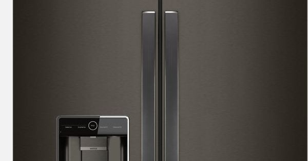 Black Stainless Steel Refrigerators And Appliances From Whirlpool Black Stainless Appliances Black Stainless Steel Appliances Black Stainless Steel