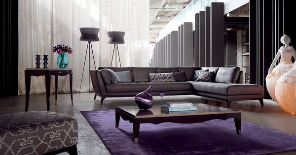 Roche bobois perception modular sofa living room pinterest modular sofa sofas and - La paz interior jacques philippe ...