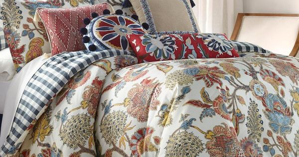 5 Piece Margot Comforter Set Comforters, Nina Campbell Margot Bedding