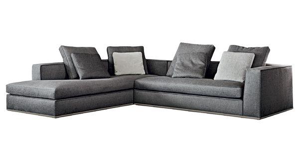 Cinco op es de sof com chaise para se jogar na sala de for Sofa para sala de tv
