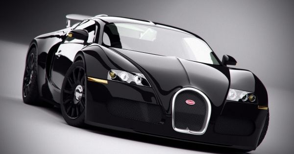 "017 Bugatti Veyron - Super Car Racing Car concept 43""x24"" Poster"