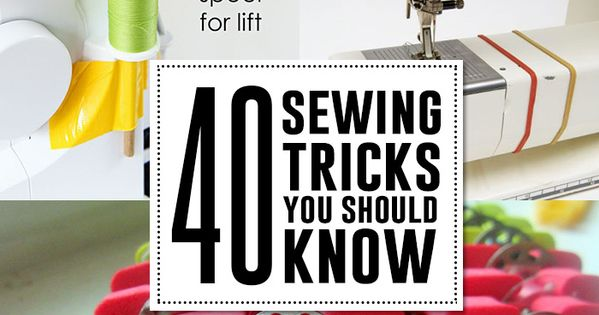 "I just bought a sewing machine, i better read up! ""40 sewing"