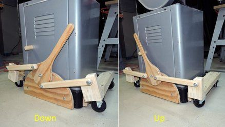 Retractable Casters For Shop Tools Retractable Casters