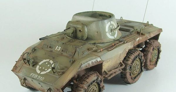 TRACK-LINK / Gallery / M8 Greyhound Without Fenders