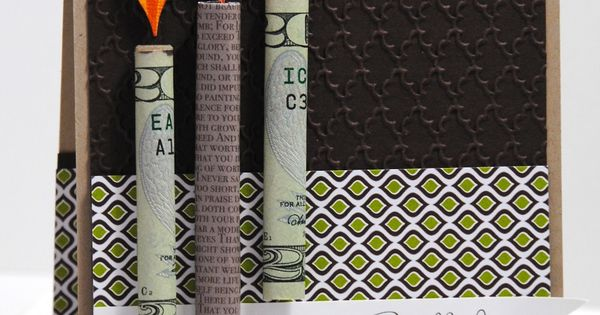 Jill's Card Creations-money gift idea
