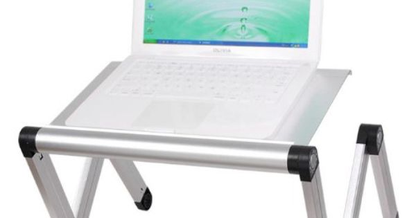 Sobuy fbt24 sil table tablette de lit ergonomique pour pc for Petite table ordinateur
