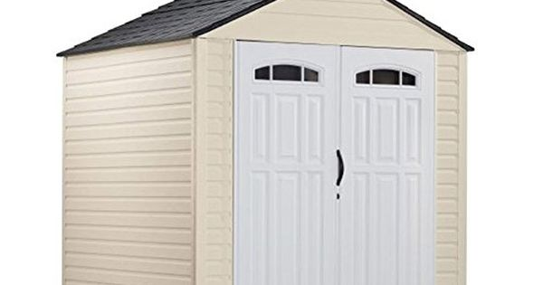 Rubbermaid 7x7 Feet Roughneck X Large 325 Cubic Feet Outd Https Www Amazon Com Dp B00jg59t Outdoor Storage Buildings Plastic Storage Sheds Rubbermaid Shed
