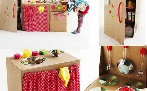 cuisine en carton pour les enfants activit s enfants pinterest cuisine en carton carton. Black Bedroom Furniture Sets. Home Design Ideas