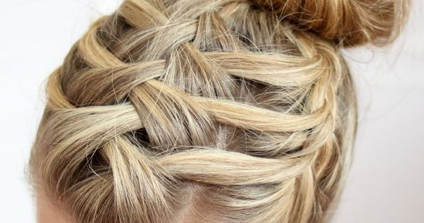 Nasty C Hairstyle: How To Do A Double Waterfall Triple French Braid #DIY. I