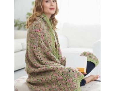Free Intermediate Afghan Crochet Pattern Mothers Day Pinterest ...