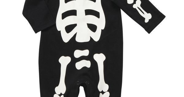 Baby Bones Suit by carters: Versions for bigger kids available in black