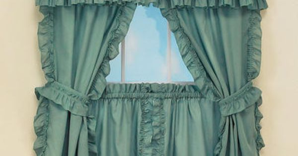 Mayfield Cape Cod Curtains With Tie Backs Home Decor