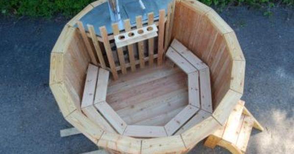 Balia Ogrodowa Drewniana Beczka Kapielowa Basen 5603941860 Oficjalne Archiwum Allegro Outdoor Decor
