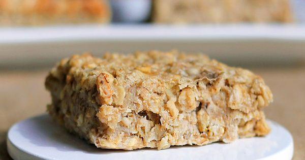 Banana Bread Oatmeal Squares! (i love baked oatmeal!)